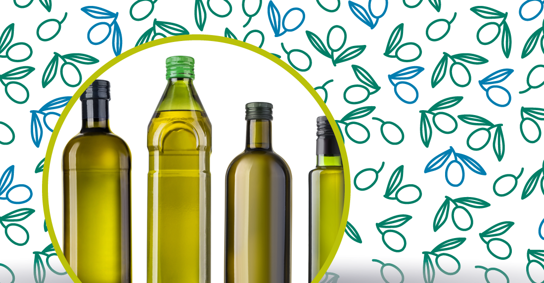 tutti i tipi di olio d'oliva