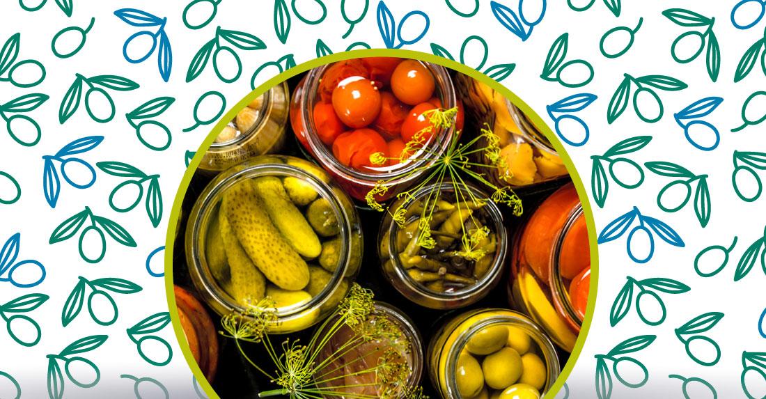 alimenti conservati sott'olio