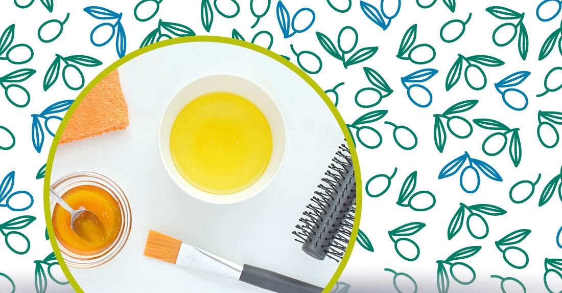 la maschera cappelli al miele e olio extravergine