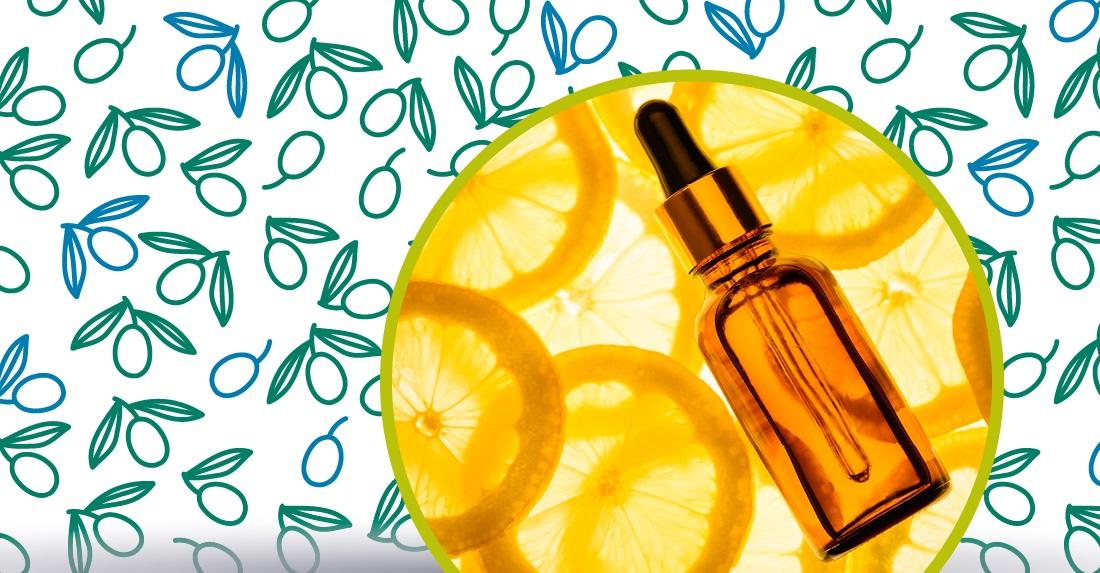 olio extravergine di oliva sulle mani