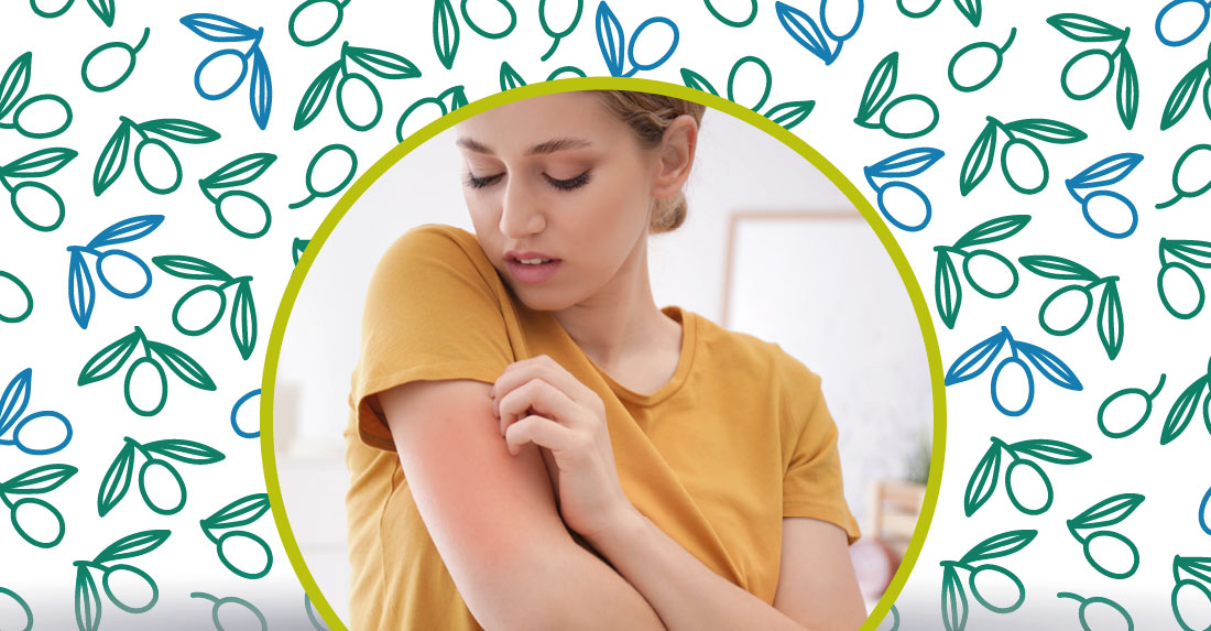 olio extravergine per curare e prevenire la dermatite
