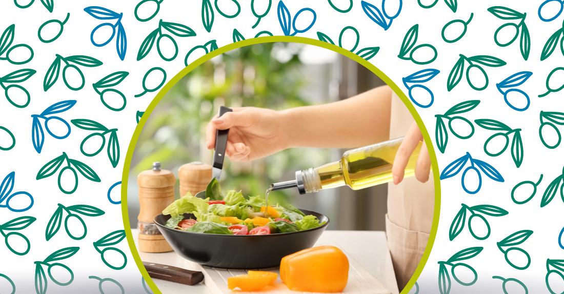 olio extravergine di oliva per la dieta